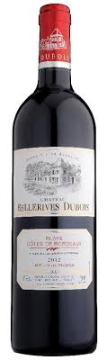 Chateau Bellerives Dubois Bordeaux Red