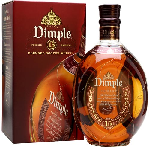 Dimple 15 Year Old Scotch Whisky