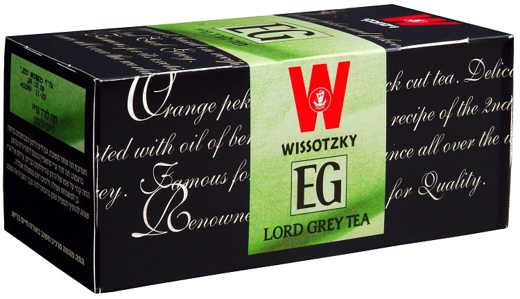 Wissotzky Lord Grey Tea