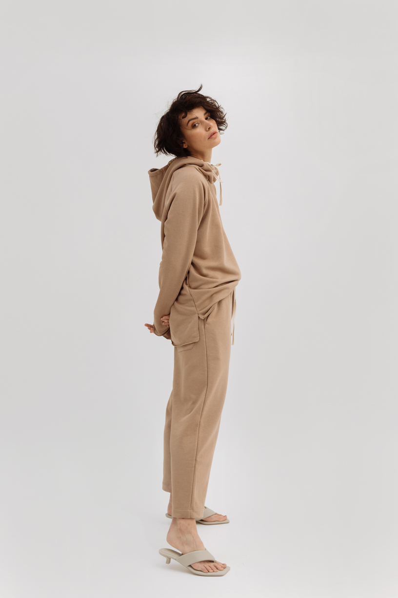 Oversized hooded sweetshirt & pants (spring/summer)