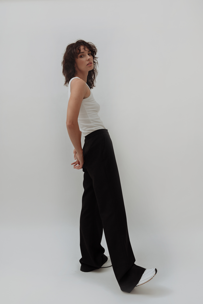 CASHMERE BELL TROUSERS