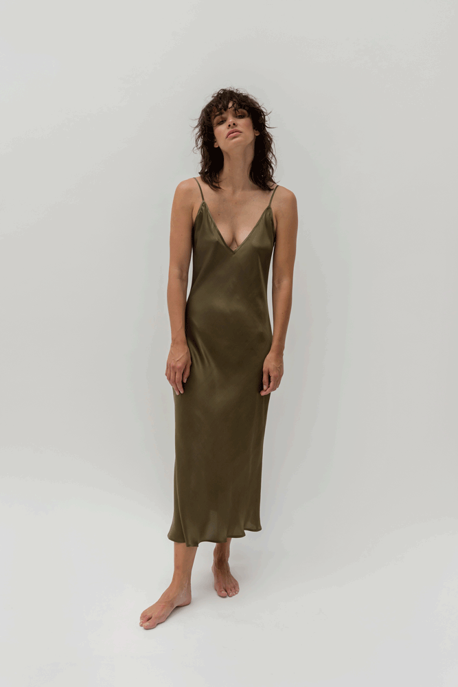 SATIN SILK LA PERLA  DRESS