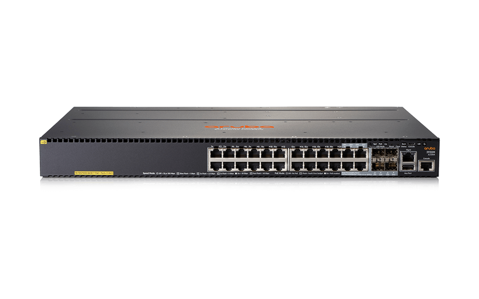 JL320A New Aruba 2930M 24G PoE+ with 1-slot Switch - var deals