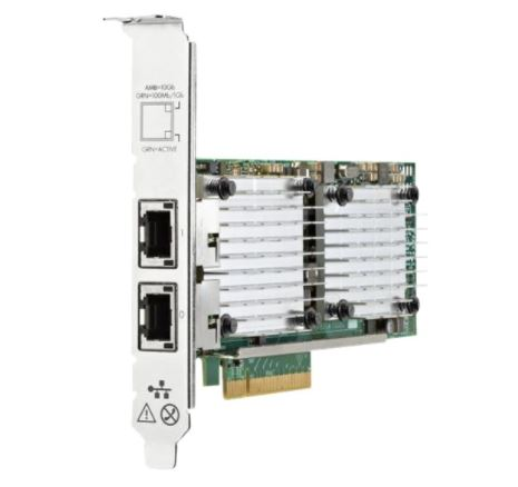 656596-B21 New HPE Ethernet 10Gb 2-port BASE-T 57810S Adapter - var deals