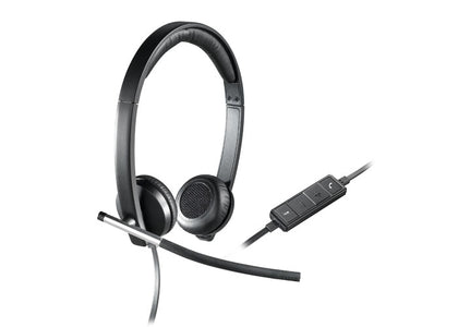 981-000545 New Logitech H650E USB STEREO HEADSET - var deals