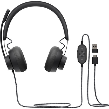 981-000871 New Logitech ZONE WIRED USB HEADSET - MS - var deals
