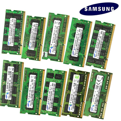 1GB 2GB 4GB 8GB 2G 4G PC2 PC3 PC3L DDR2 DDR3 667Mhz 800Mhz 1333hz 1600Mhz 5300 6400S 8500 10600 ECC Laptop memory notebook RAM - var deals