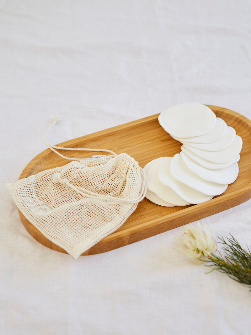 Bamboo Cotton Makeup Remover Pads