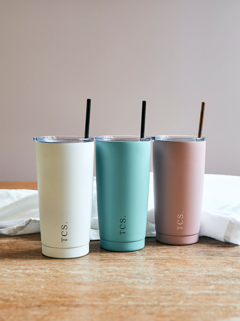 Insulated Smoothie Cup with Straw
