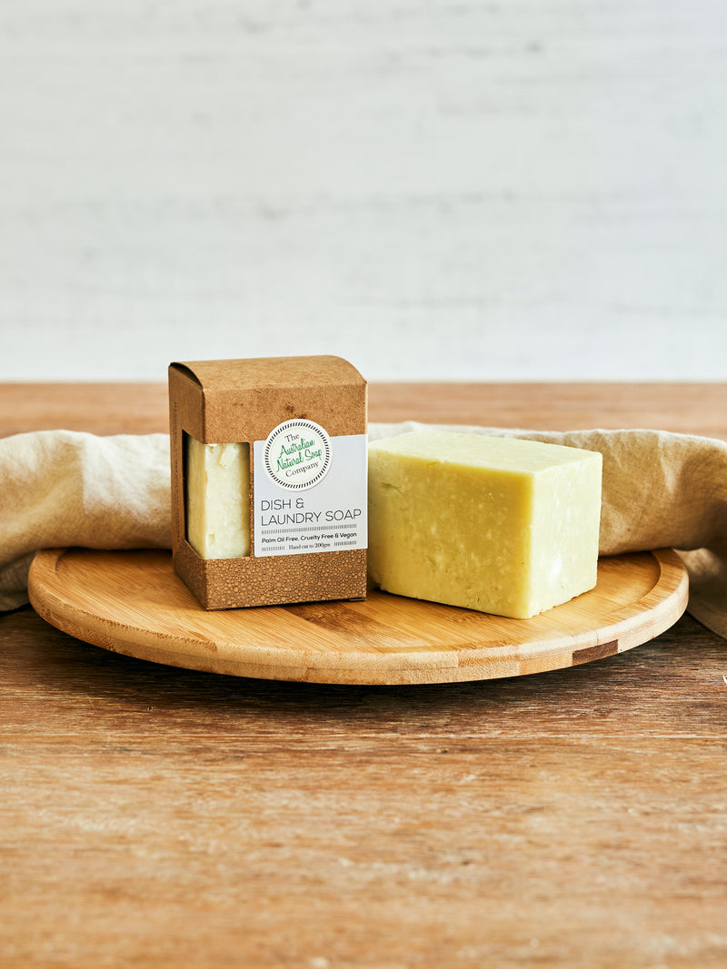 The Australian Natural Soap Co. Dish and Laundry Solid Soap