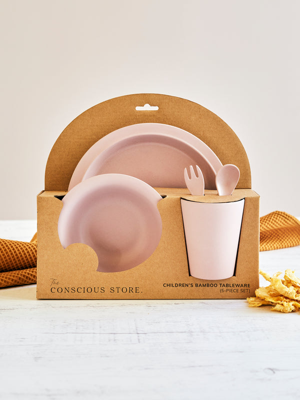 Children's Bamboo Tableware in Dusk