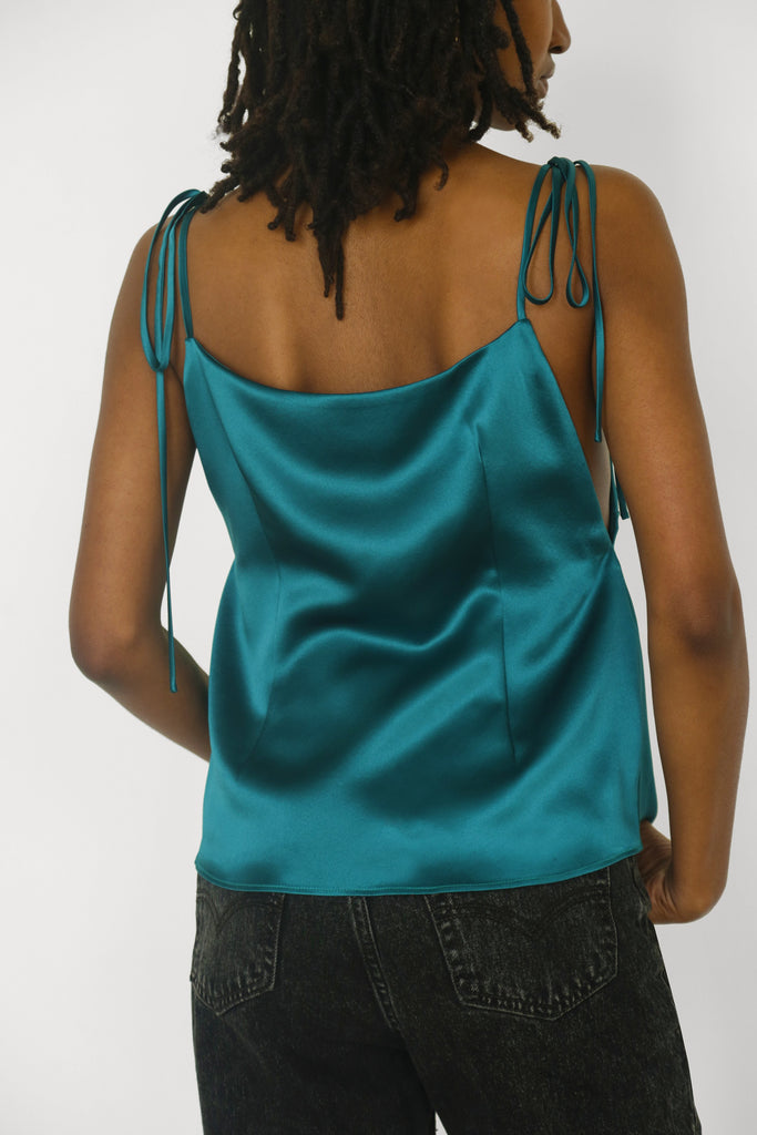 Kimberly Blouse in Emerald