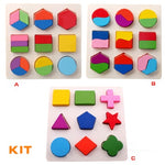 Load image into Gallery viewer, Children's educational toys exercise math memory logical body coordination four-color fruit game chess montessori wooden toys