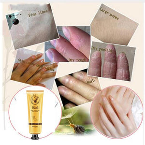 Brand New Horse Oil Repair Hand Cream Anti-Aging Soft Hand Refreshing Whitening Moisturizing Hand Essential Suitable Non-greasy