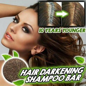 60g Hair Darkening Safe Glossy Scalp Shampoo Bar Regrowth Handmade Anti Dandruff Cleansing Unisex Adults Home Health Care