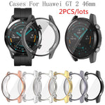 Load image into Gallery viewer, 2PCS  Soft Protect Cover for Huawei Watch GT2 46mm Case TPU Bumper for Watch GT 2 42mm  Frame Accessorie