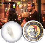 Load image into Gallery viewer, Blue ZOO Natural Beard Oil Balm Moustache Styling Beeswax Moisturizing Smoothing Gentlemen Beard Balm Organic Men Grooming Kit