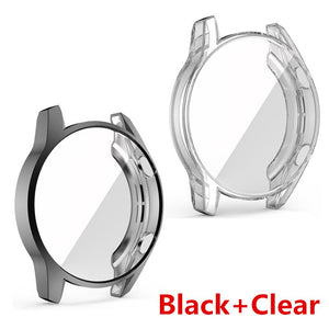 2PCS  Soft Protect Cover for Huawei Watch GT2 46mm Case TPU Bumper for Watch GT 2 42mm  Frame Accessorie