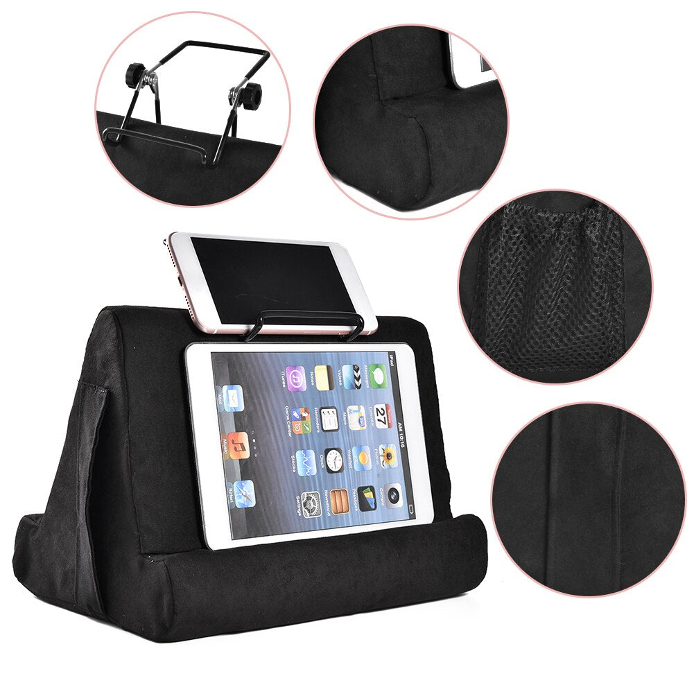 Portable Tablet Holder for iPad Smart Phone Soft Pillow Stand Multifunctionele Bracket for Xiaomi Huawei Pad Drop Shipping
