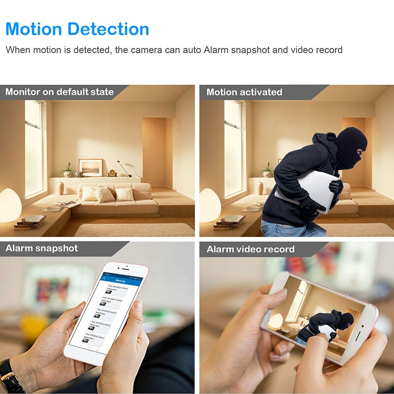 Wifi Ip Mini Camera HD 1080P DIY CCTV Micro Camcorder P2P Wireless Webcam DVR Video Recorder Home security Camera hidden tf card