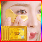 Load image into Gallery viewer, cosmetics collagen eye patches Mask skin care 24k Gold Crystal Eye Patch Colageno Gel Eye Pads eye patches mask