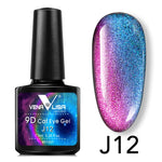 Load image into Gallery viewer, New Nail Art Design Manicure Venalisa 7.5Ml Soak Off Enamel 9d cat eyes magnetic Gel Polish UV Gel Nail Polish Lacquer Varnish