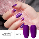 Load image into Gallery viewer, MORDDA 8 ML Gel Nail Polish Gel Varnish Semi Permanent UV LED Gel Nail Lacquer Soak Off Hybrid Gel Painting Need Matte Top Coat