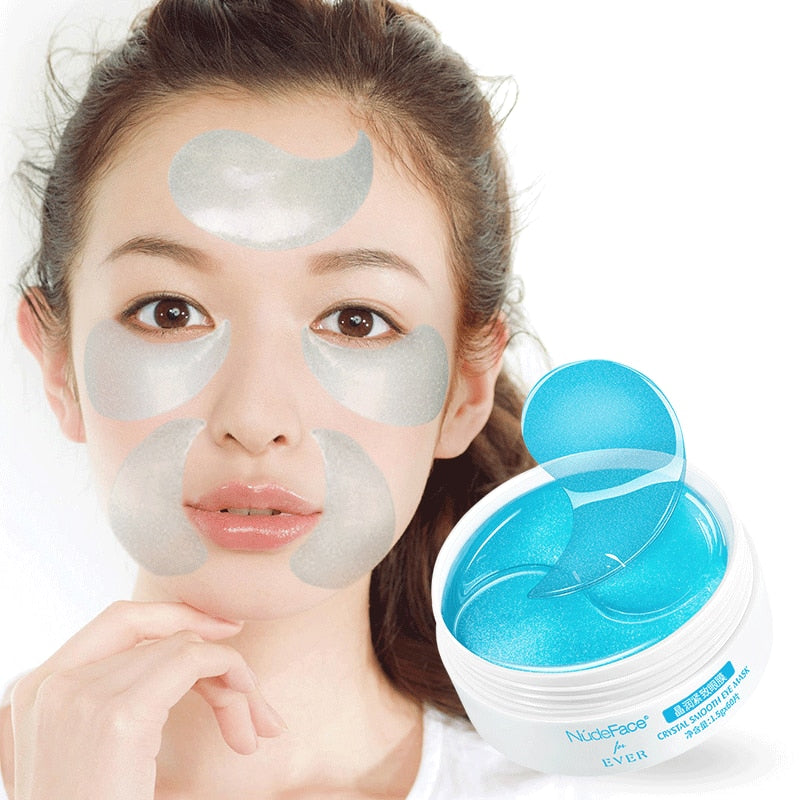 60Pcs Makeup Under Eye Patches Mask Hydrogel Collagen Mask Wrinkles Cosmetics Skin Care Gel Eye Mask Patches Korean Cosmetic Gel