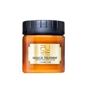 PURC 120ml Magical Keratin Hair Treatment Mask Effectively Repair Damaged Dry Hair 5 Seconds Nourish & Restore Soft Hair TSLM1