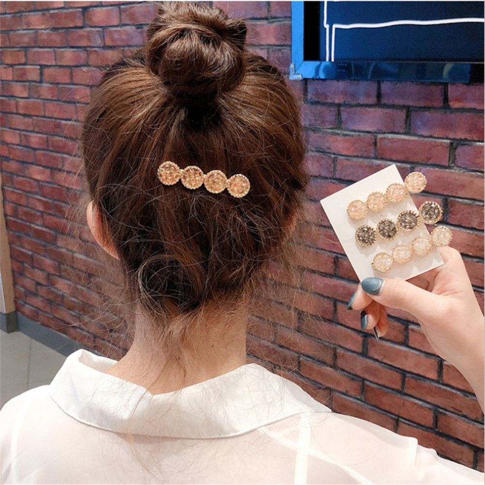 1Pc Olive Branch Leaves Pearl Metal Hair Clip Hairband Comb Bobby Pin Barrette Hairpin Headdress Accessories Beauty Styling #001