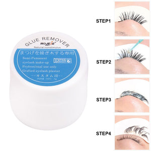 Grafting Eyelash Extension Makeup Remover Glue 5g Non-irritating Plant Adhesive Gel Remover Eye Lashes Make Up Remover Cream