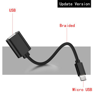 OTG Adapter Micro USB Cables OTG USB Cable Micro USB To USB for Samsung LG Sony Xiaomi Android Phone for Flash Drive