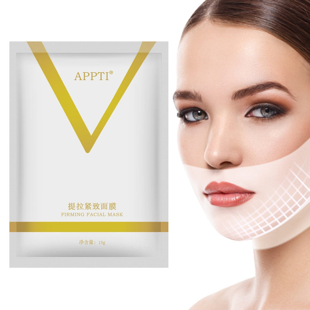 Face Lifting Mask Miracle V Shape Slimming Mask Facial Line Remover Wrinkle Double Chin Reduce Lift Bandage Skin Care Tool