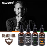 Load image into Gallery viewer, Natural Face Beard Styling Oil Beard Balm Moustache Wax Cream Oil Nourishing Smoothing Beard Growth Oil for Men Beard Care Kit