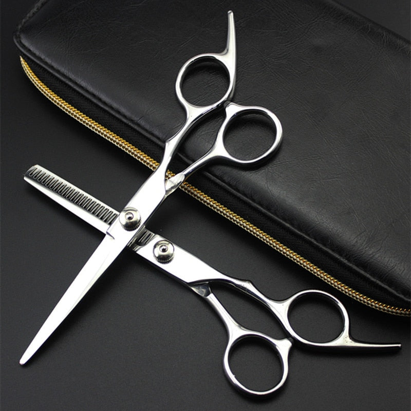 professional 6 inch Japan 4cr hair scissors cut hair cutting salon scissor makas barber thinning shears hairdressing scissors