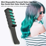 Load image into Gallery viewer, Professional Mini 6 Colors Hair Dye Comb Disposable Hair Dye Comb Crayons Use For Personal Salon Temporary Styling Tool TSLM2