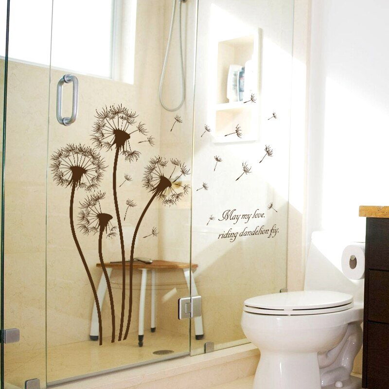 Dandelion Stickers Wall Sticker Wall Art Home Decoration Accessories Bedroom Decor Wall Stickers Home Decor Living Room