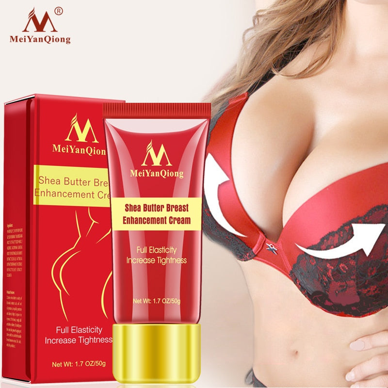 Herbal Breast Enlargement Cream Effective Full Elasticity Breast Enhancer Increase Tightness Big Bust Breast Care Cream 50g