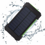 Load image into Gallery viewer, For XIAOMI Iphone 6 7 8 20000mah Portable Solar Power Bank 20000mAh External Battery DUAL Ports powerbank Charger Mobile Charger