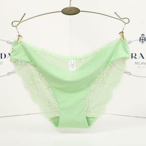 Ladies Underwear Woman Panties Sexy Lace Plus Size Panty Transparent Low-Rise Cotton Briefs Intimates New Hot Sale