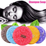 Load image into Gallery viewer, Dropshipping  55g Handmade Hair Shampoo Soap Cold Processed Cinnamon Ginger Shampoo Bar 100% Pure Hair Shampoos Hair Care Tool