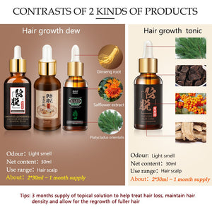 Hair Loss Products for Fast Hair Growth Treatment Hair Essence Oil Natural Extracts Liquid Hair Care Regrowth Products Solutions