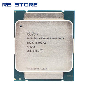 used Intel Xeon E5 2620 V3 Processor SR207 2.4Ghz 6 Core 85W Socket LGA 2011-3 CPU E5 2620V3