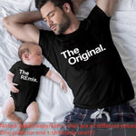 Load image into Gallery viewer, Family Matching Clothes Father Mother Daughter Son Pizza T-shirt Clothes Dad Mom and Me Baby Tshirt The Price of a Piece Clothes
