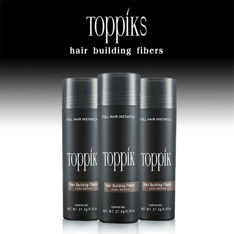 Hair Fibers Keratin Toppik Thickening Spray Hair Building Fibers 27.5g Loss Products Instant Wig Regrowth Powders