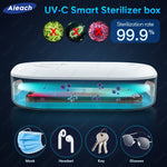 Load image into Gallery viewer, Phone UV Sterlizer Box For iPhone 11 X 7 8 XR For Xiaomi Redmi Note 9 8 Samsung Huawei Mask UVC Lamp Steriliser Sterilizer Box