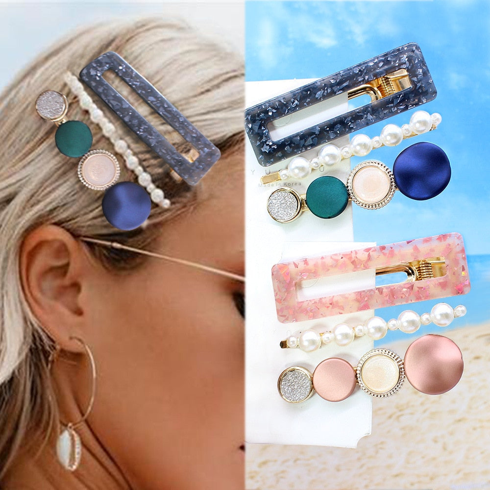 1 PCS Gold Pin Hairpin Clip Hair Clip Hairband Bobby Pin Barrette Hairpin Headdress Accessories Beauty Styling Tools New Arrival