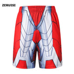Load image into Gallery viewer, New Fashion Marvel Men Sporting Beaching Shorts Trouser Bodybuilding Sweatpants Fitness Superhero Jogger Casual Gym Men Shorts