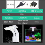 Load image into Gallery viewer, 3 Modes 5W 10W LED Aqua Fish Light for Aquarium Fish Tank Clamp Clip Light White Blue Red Green Color Lighting