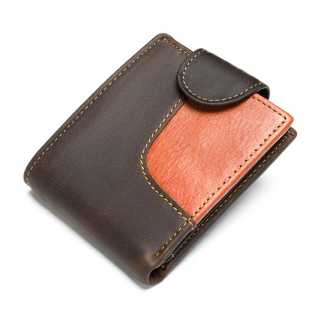 WESTAL men's wallet genuine leather men's purse for men credit card holder male purse slim vingate wallet short money bags 7037
